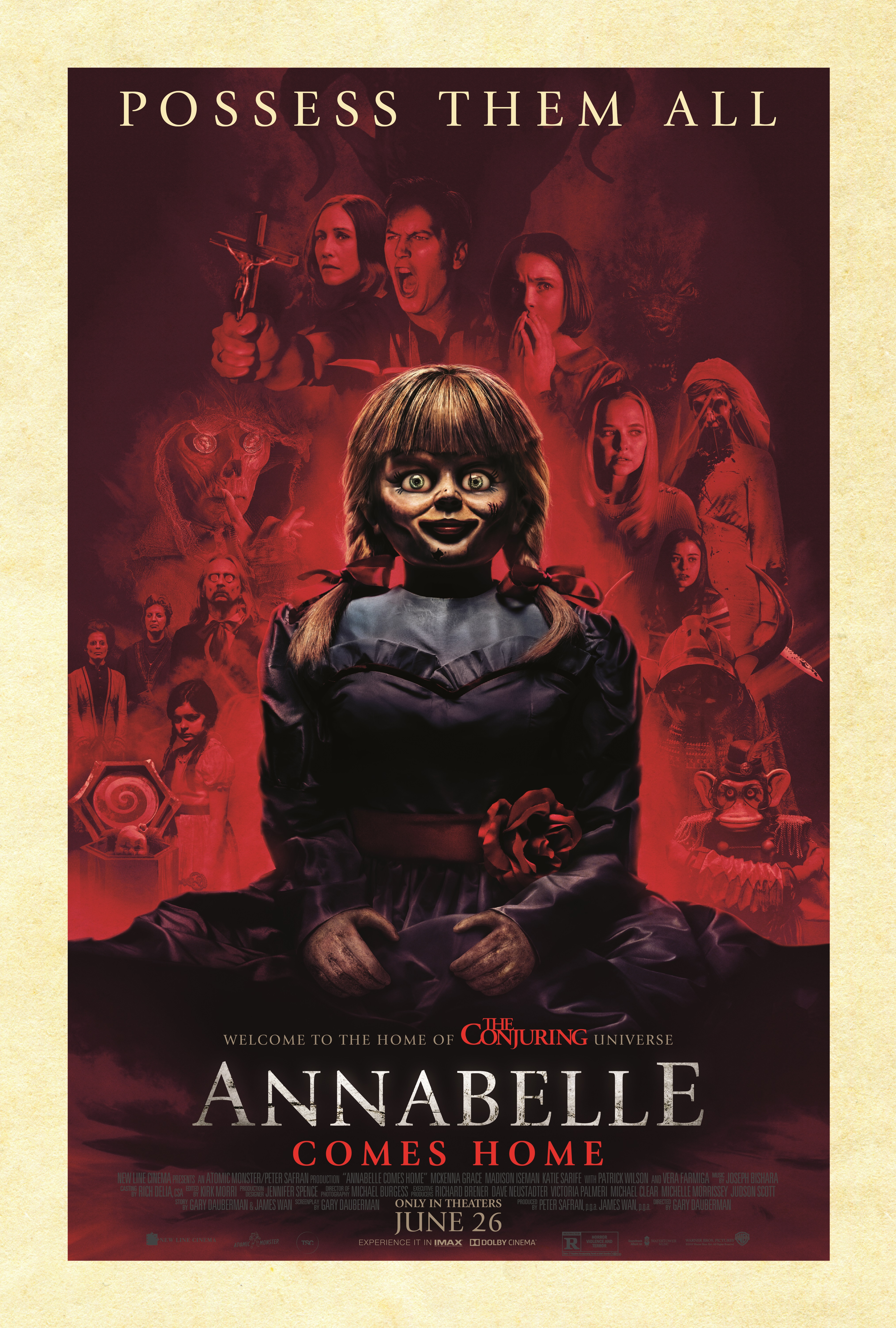 Annabelle Comes Home 2019 Main Poster The Silverscreen Analysis
